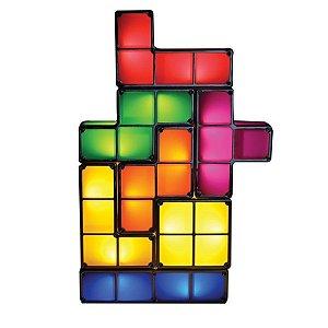 Luminária de Led Tetris