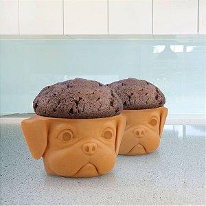 Conjunto com 2 Formas de Cupcake Dog