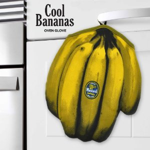Luva de Cozinha Cacho de Bananas