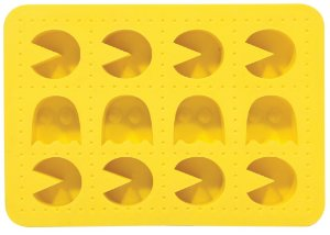 Fôrma de Gelo de Silicone Pac-Man