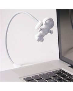 Lanterna de Led USB Astronauta