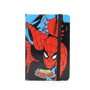 Caderno De Anotação tipo Sketchbook Homem Aranha
