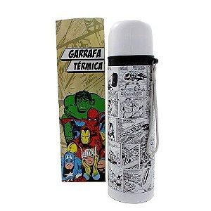 Garrafa Térmica História em Quadrinhos Marvel PB