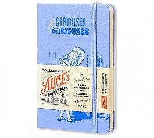 Caderno Moleskine Edição Limitada Alice No País das Maravilhas