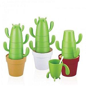 Jogo de Xícaras Cactus