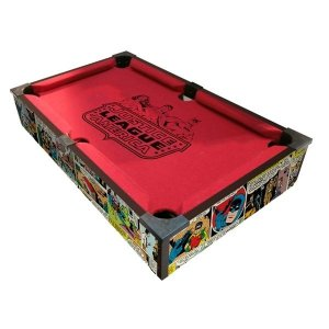 Mini Mesa de Sinuca DC Comics