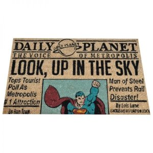 Capacho DC Comics Superman Newspaper