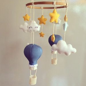 Móbile de Berço Balões