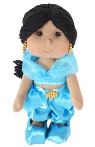 Boneca de pano Jasmine