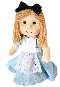 Boneca de Pano Alice no País das Maravilhas