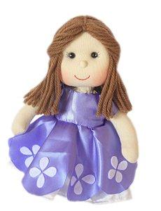Boneca de pano Princesinha Sofia