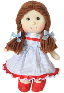 Boneca de pano Dorothy - Mágico de Oz