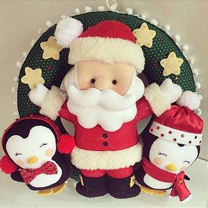 Guirlanda de Natal - O super Papai Noel