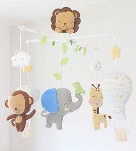 Móbile de Berço Safari Baby
