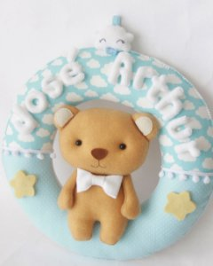 Guirlanda Maternidade Urso Bê