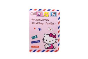 PORTA DOCUMENTOS OU PASSAPORTE HELLO KITTY VIAJAR