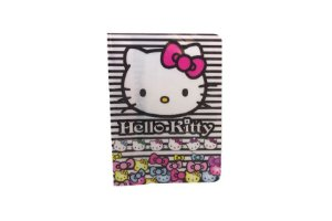 PORTA DOCUMENTOS OU PASSAPORTE HELLO KITTY LISTRAS