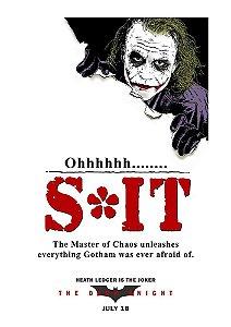 Poster - Joker Ohhhh S*it
