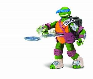 Multikids Tartarugas Ninja Flingers Leonardo 14cm BR156 - SORTIDO