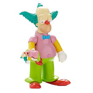 Boneco Simpsons - Palhaço Krusty 15cm C/Som - Multikids