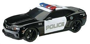 Carrinho de Controle Remoto - Camaro Police Car - 1:18 - Multikids BR449