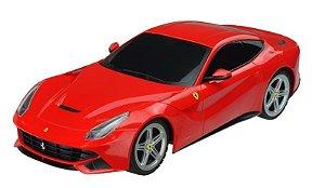 Carrinho de Controle Remoto XQ Ferrari F12 Berlinetta - 1:18 Multikids - BR447