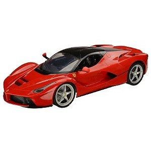 Carrinho de Controle Remoto XQ La Ferrari - 1:24 Multikids - BR437