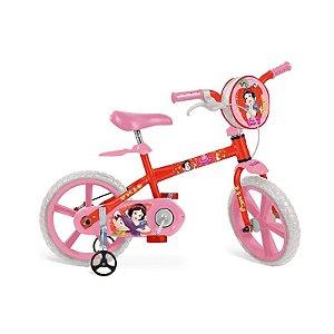 Bicicleta Aro 14 Branca de Neve Disney - Bandeirante 2197