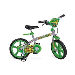 Bicicleta Aro 14 Tartarugas Ninja - Bandeirante 2010