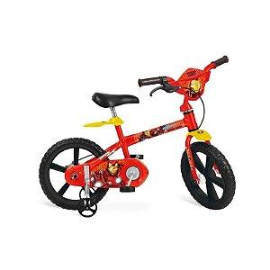 Bicicleta Aro 14 Homem de Ferro - Bandeirante 2248