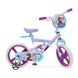 X-Bike Aro 14 Frozen Disney - Bandeirante 2448