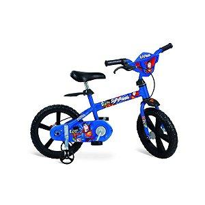 Bicicleta Aro 14 Super Homem - Bandeirante 2356