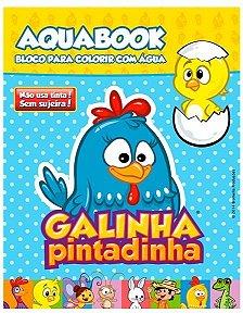Aqua Book Galinha Pintadinha
