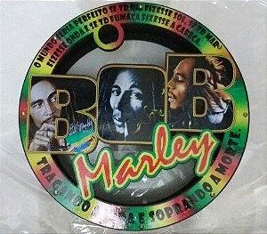 Carretilha Gigante Madeira 42 CM - Vazada BOB MARLEY