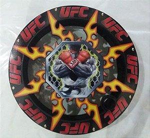 Carretilha Gigante Madeira 42 CM - Vazada UFC