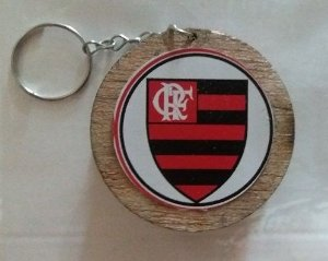 Chaveiro Carretilha de Pipa - Flamengo