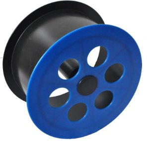 Mini Carretilha de Plástico 15 CM Para Pipa