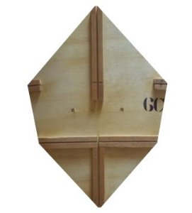 Forma / Gabarito Profissional Para Fazer Pipa GT 55 Cm