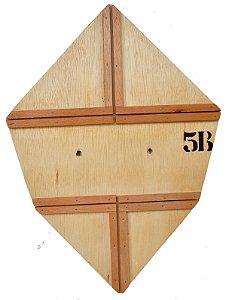 Forma / Gabarito Profissional Para Fazer Pipa Carrapeta Reta 55 Cm