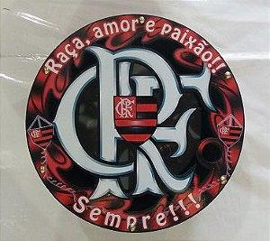 Carretilha Madeira 28 CM - Vazada Flamengo