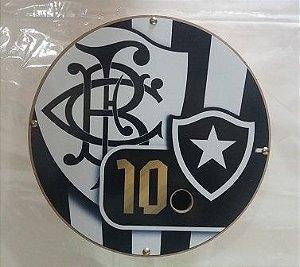 Carretilha Madeira 28 CM - Botafogo