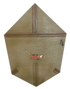 Forma / Gabarito Profissional Para Fazer Pipa Batata 50 Cm