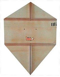Forma / Gabarito Profissional Para Fazer Pipa Biquinho 80 Cm