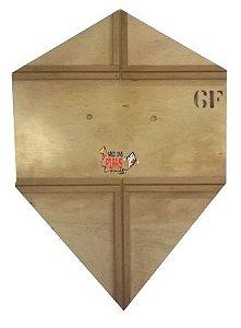 Forma / Gabarito Profissional Para Fazer Pipa Biquinho 60 Cm