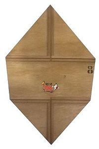 Forma / Gabarito Profissional P Fazer Pipa Carrapeta Reta 70cm