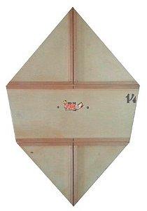 Forma Gabarito Profissional P/ Fazer Pipa Carrapeta Reta 80cm