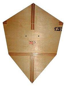 Forma / Gabarito Profissional Para Fazer Pipa Charutão 80 Cm