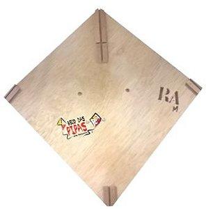 Forma / Gabarito Profissional Para Fazer Pipa Raia 40x40