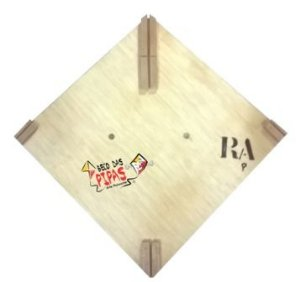 Forma / Gabarito Profissional Para Fazer Pipa Raia 35x35