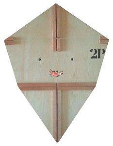 Forma / Gabarito Profissional Para Fazer Pipa Pizza 55 Cm